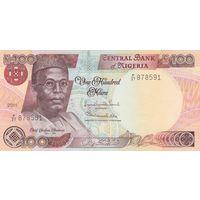Нигерия 100 найра 2011 года (UNC)