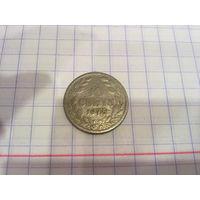 Либерия 10 центов 1975