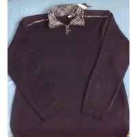Мужской свитер (разм. L, в составе шерсть)