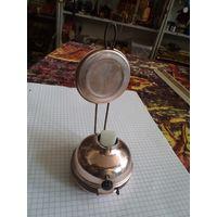 Лампа маленькая настольная советская на батарейках.