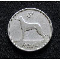 Ирландия 6 пенсов 1942
