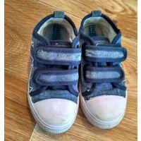 Спортивная обувь ,кеды стелька 17 кожа Obba