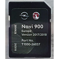 Navi 900 / 600 LATEST FULL Europe map 2017-2018 SD carte Opel Vauxhall Chevrolet