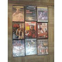 Девять DVD по боевым искусствам. Торги!