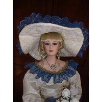 Фарфоровая кукла, коллекционная (80 см, 1992г. )