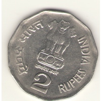 2 рупии 2000 г. МД: Нойда.