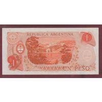 АРГЕНТИНА. 1 песо 1970-73. aUNC. 20.562338 распродажа