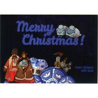 Открытка - Merry Christmas!