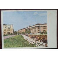Минск. Площадь им.Ленина. 1967 г. Чистая.