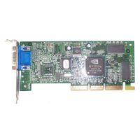 Видеокарта NVIDIA TNT2_64 Vanta-16 - AGP-4x (AGP-2x/4x), 16Мбайт. Подходит для ретро-плат. Низкопрофильная от фирменного компьютера. =Рабочая=