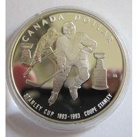 Канада, доллар, 1993, серебро, пруф