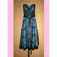 Платье гипюровое нарядное BAY, р.44