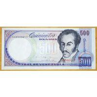 500 боливаров 1998 года - Венесуэла - UNC