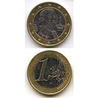 Австрия 1 евро 2002 г. KM#3088