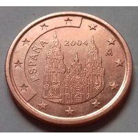 5 евроцентов, Испания 2004 г., AU
