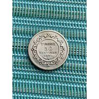 Тунис 50 сантимов 1891 г.