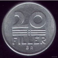 20 филлер 1987 год Венгрия