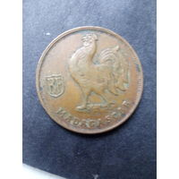 Мадагаскар 1 франк 1943