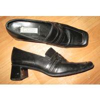 Туфли кожаные Janet D. р.39.5-40