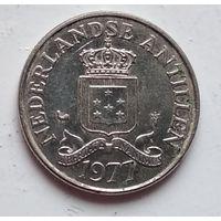 Нидерландские Антильские острова 25 центов, 1977 1-1-14