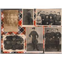 Фото военных  с наградами, начало 50-х