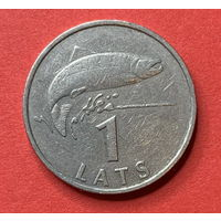 Латвия, 1 лат 1992г.