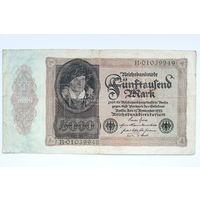 Германия, 5000 марок 1922 год