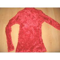 Красный свитер 9 -11лет