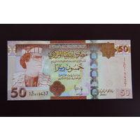 Ливия 50 динаров 2009 UNC