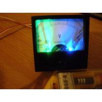 Вольтметр на 3в с LED подсветкой