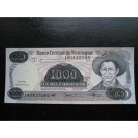 Никарагуа 500 000 на 1000 кордоба (образца 1987 года, P150, UNC)