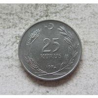 Турция 25 куруш 1974