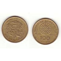 100 драхм 1992