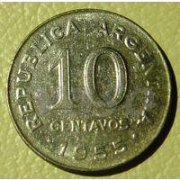 5615:  10 сентаво 1955 Аргентина