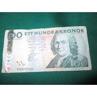 100 крон Швеция