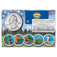 Альбом 25 центов Parks USA 2010-2021