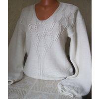 Красивый пуловер с шерстью 46-48 размер, РБ