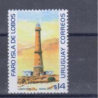 [2126] Уругвай 2003. Маяк. MNH
