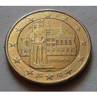 2 евро, Германия 2010 D, Бремен - Bremen, AU