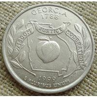 25 центов 1999 США - Джорджия