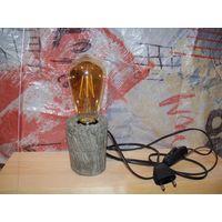 Настольная лампа. Дизайнерский светильник. 009