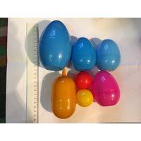 Яйца капсулы пустые большие нестандарт от Киндер и не только для поделок и творчества