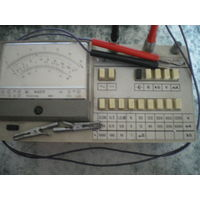 Комбинированный переносной прибор, тестер Ф-4313. Шкала зеркальная.