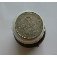 10 центов 2004 Восточные Карибы Корабль