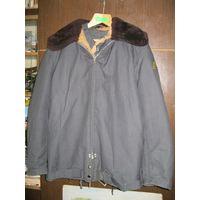 Куртка лётно-технического состава ВВС СССР, 1985 год, новая, размер 56-4 + ещё одна куртка-верх(без меха), новая, размер 56-4 в подарок!!!