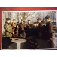 Фото 90-х. Занятия по огневой подготовке. ВС РБ. (ПКМ)