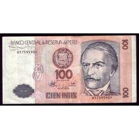 100 Интис 1987 ггод Перу
