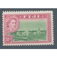 1954 Фиджи 127 Архитектура