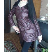 Пальто демисезонное 42 р синтепон