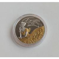 Белорусский балет. 2015, 20 рублей 2015, серебро, Ag 925, позолота